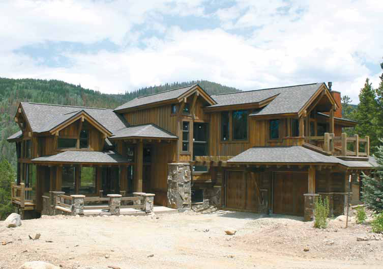 182 campion trail breckenridge custom home breckenridge for Custom mountain homes