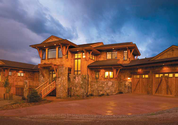 Custom Home Silverthorne 235 Game Trail Road