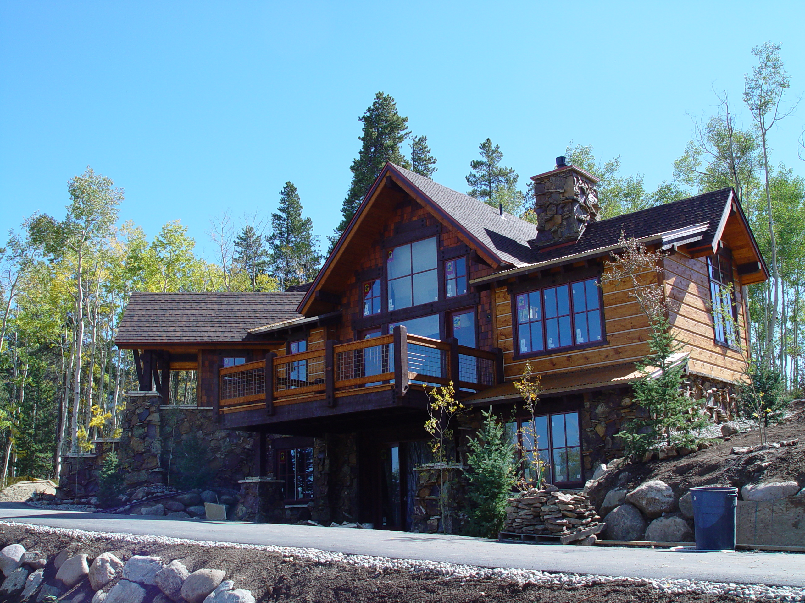 3 bed 3 5 bath eagles nest golf course sub home 1 195 500 for Colorado mountain house