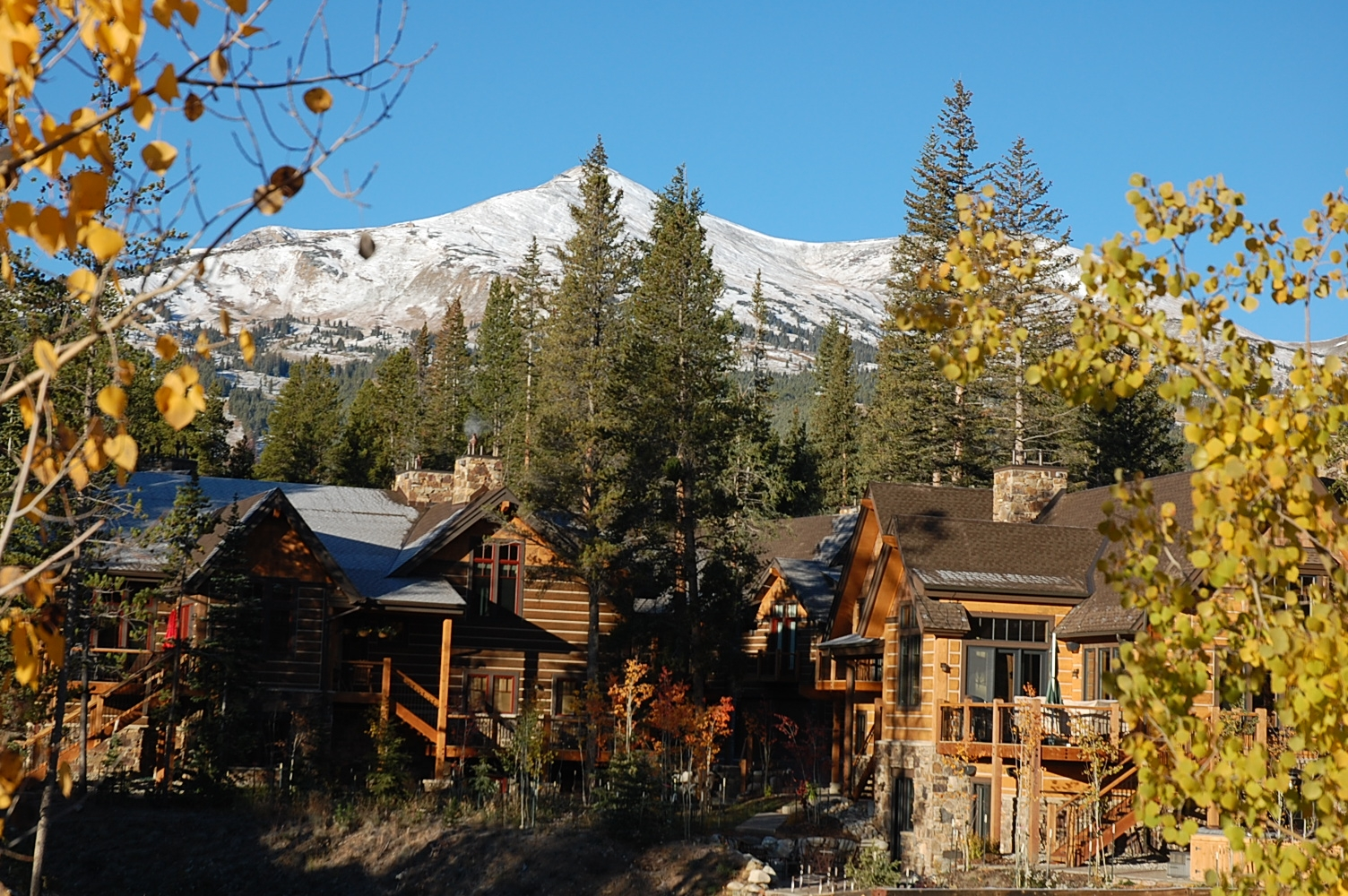 breckenridge homes for sale Properties still going up in mountain towns, but economic problems cause impacts