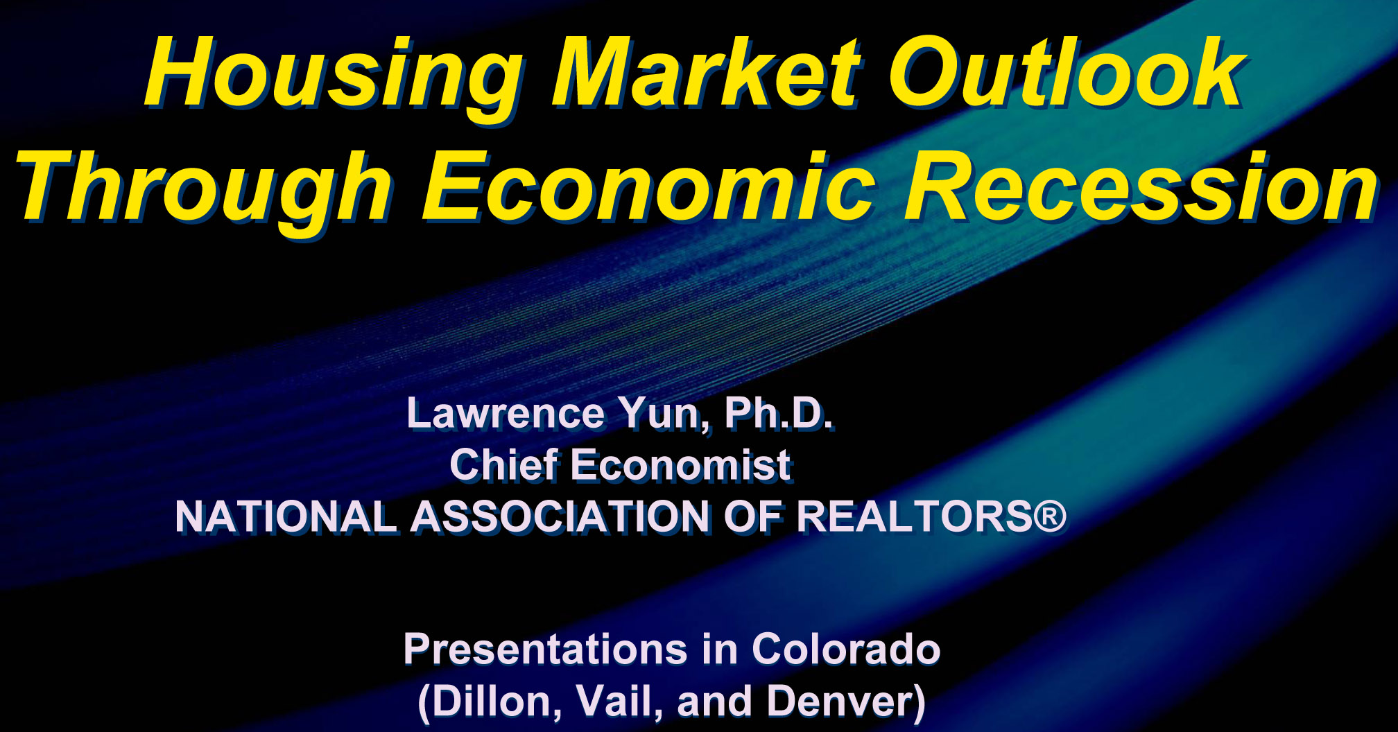 colorado real estate market Real estate is on target to rebound this year