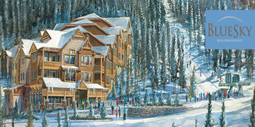 BlueSky Condos Breckenridge Ski in Ski Out Condominium Floor Plans