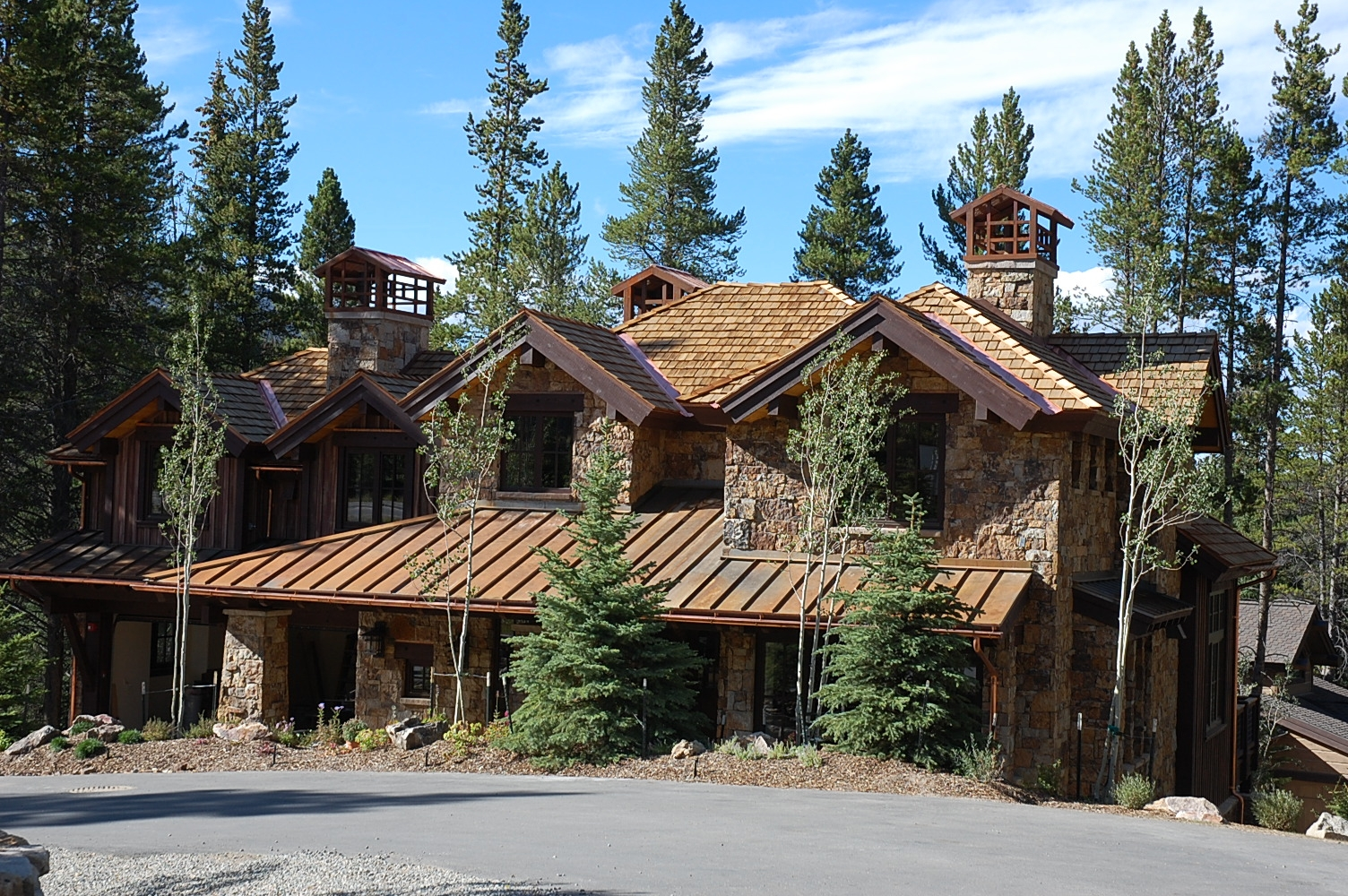 Breckenridge luxury homes ski lavish mountain timber real for Montain house