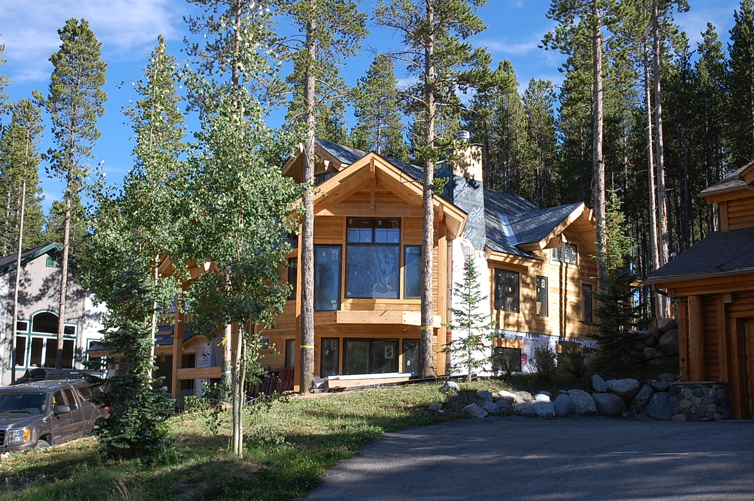 Breckenridge new homes construction development luxury for Building a house in colorado