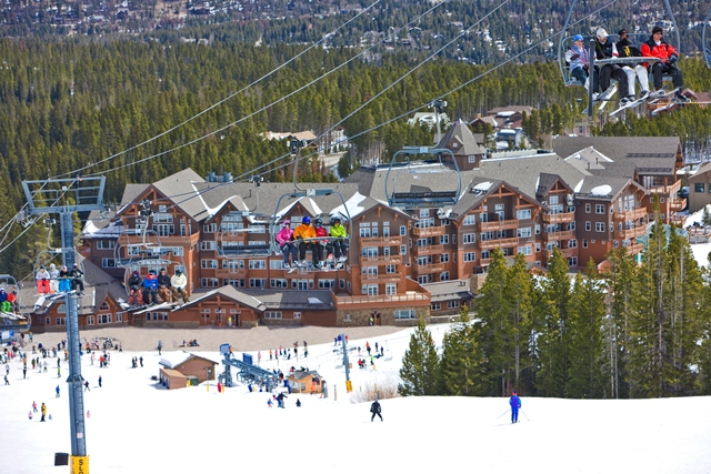 One Ski hill Breckenridge