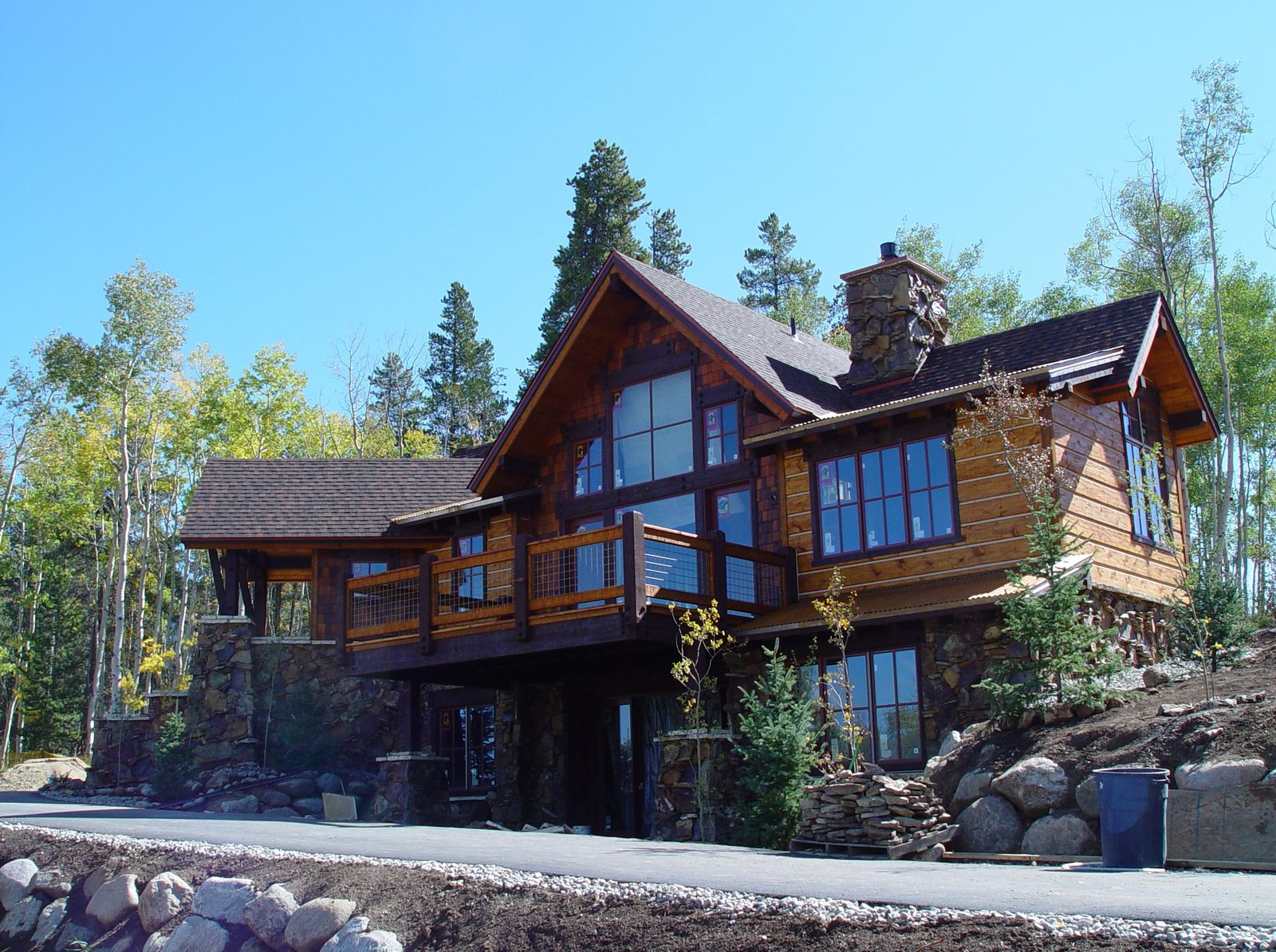 Silverthorne homes colorado golf course log realty for Mountain houses