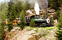 Breckenridge Train Rides colorado