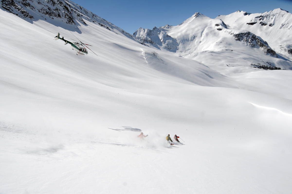 colorado heli skiing